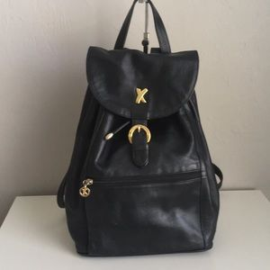 Gorgeous leather backpack by Paloma Picasso